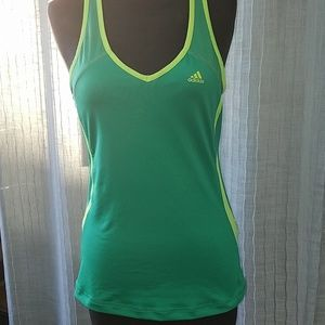 Keylime Adidas Sport Tank Top Medium